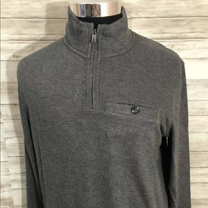 Men NEW! Ted Baker London 1/4 ZIp Sweater N45